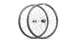 carbon disc road bike rims white Boyd 28mm