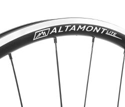 aluminum disc road bike rims black Boyd Altamont Lite
