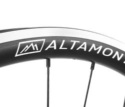 aluminum road bike rims black Boyd Altamont
